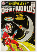 Silver Age (1956-1969):Science Fiction, Showcase #17 Adventures on Other Worlds (DC, 1958) Condition:Apparent FR/GD....