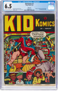 Golden Age (1938-1955):Superhero, Kid Komics #1 Windy City Pedigree (Timely, 1943) CGC FN+ 6.5 Light tan to off-white pages....