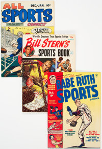 Sports Comics Group of 20 (Various, 1940s-50s) Condition: Average FN+.... (Total: 20 Items)