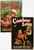 "Golden Age (1938-1955):Romance, Cowboy Love #4 and 10 Crippen ""D"" Copy Pedigree (FawcettPublications, 1949-50).... (Total: 2 Comic Books)"