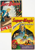 Golden Age (1938-1955):Miscellaneous, Super Magic and Super Magician Comics Group of 2 (Street & Smith, 1940s).... (Total: 2 Comic Books)