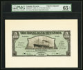 Canadian Currency, Castries, St. Lucia- Royal Bank of Canada $5 (£1-0-10) 2.1.1920 Ch. # 630-62-02FP; BP Front and Back Proofs PMG Gem Uncirc... (Total: 2 notes)
