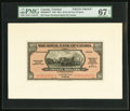 Canadian Currency, Port of Spain, Trinidad- The Royal Bank of Canada $20 1.3.1938 Ch. #630-68-04FP and #630-68-04BP Front & Back Proofs PMG S... (Total: 2 notes)