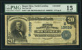 National Bank Notes:North Carolina, Mount Olive, NC - $20 1902 Plain Back Fr. 657 The First NB Ch. # (S)10629 PMG Choice Fine 15.. ...