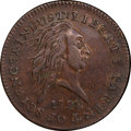 Large Cents, 1792 P1C Small Pattern Cent, Judd-2, Pollock-2, Low R.7, SP53 PCGS Secure. CAC. ...