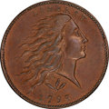 1793 1C Wreath, Vine and Bars Edge, S-10, B-10, R.4, MS65 Brown PCGS Secure. CAC....(PCGS# 35462)