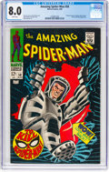 Silver Age (1956-1969):Superhero, The Amazing Spider-Man #58 (Marvel, 1968) CGC VF 8.0 White pages....