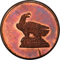 1792-Dated CENT Circa 1859 Dickeson Restrike Token, Breen-1380, Judd-C1792-1, MS64 Red and Brown PCGS Secure....(PCGS# 6...