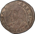 1790 3PENCE Standish Barry Threepence AU53 PCGS Secure. Breen-1019, W-8510, R.6....(PCGS# 609)