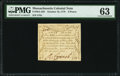 Colonial Notes:Massachusetts, Massachusetts October 16, 1778 9d PMG Choice Uncirculated 63.. ...
