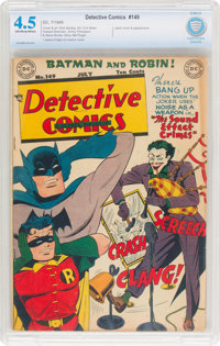 Detective Comics #149 (DC, 1949) CBCS VG+ 4.5 Off-white to white pages