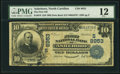 National Bank Notes:North Carolina, Asheboro, NC - $10 1902 Date Back Fr. 618 The First NB Ch. # (S)8953 PMG Fine 12.. ...
