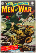 Golden Age (1938-1955):War, All-American Men of War #9 (DC, 1954) Condition: FN....