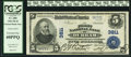 Durham, NC - $5 1902 Plain Back Fr. 600 The First NB Ch. # 3811 PCGS Extremely Fine 40PPQ