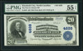 National Bank Notes:North Carolina, Elizabeth City, NC - $20 1902 Plain Back Fr. 658 The First & Citizens NB Ch. # 4628 PMG About Uncirculated 55 EPQ.. ...