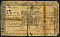 Colonial Notes:Maryland, Maryland March 1, 1770 $1 Fine.. ...