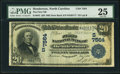 Henderson, NC - $20 1902 Date Back Fr. 642 The First NB Ch. # (S)7564 PMG Very Fine 25