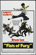 "Movie Posters:Action, Fists of Fury (National General, 1973). One Sheet (27"" X 41"").Action...."