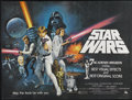 "Movie Posters:Science Fiction, Star Wars (20th Century Fox, 1977). British Quad (30"" X 40"").Science Fiction...."