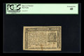 Colonial Notes:New York, New York March 5, 1776 $1/3 PCGS Extremely Fine 40....