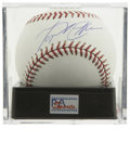 Autographs:Baseballs, Miguel Cabrera Single Signed Baseball PSA Mint+ 9.5. Only the thirdplayer in major league history to hit a walk off home r...