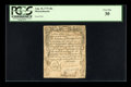 Colonial Notes:Massachusetts, Massachusetts August 18, 1775 40s PCGS Very Fine 30....