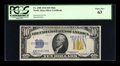 Small Size:World War II Emergency Notes, Fr. 2308 $10 1934 Mule North Africa Silver Certificate. PCGS ChoiceNew 63.. ...