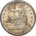 Trade Dollars, 1874-S T$1 MS65+ PCGS. CAC....