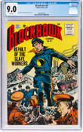 Silver Age (1956-1969):Adventure, Blackhawk #97 (Quality, 1956) CGC VF/NM 9.0 White pages....