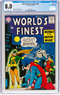 Silver Age (1956-1969):Superhero, World's Finest Comics #98 (DC, 1958) CGC VF 8.0 Off-white pages....