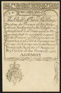 Colonial Notes:New Hampshire, New Hampshire April 1, 1737 2s Cohen Reprint About New.. ...