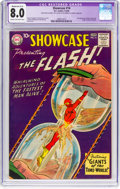 Silver Age (1956-1969):Superhero, Showcase #14 The Flash (DC, 1958) CGC Apparent VF 8.0 Moderate(A-3) Cream to off-white pages....