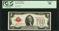 Small Size:Legal Tender Notes, Fr. 1503 $2 1928B Legal Tender Note. PCGS About New 50.. ...