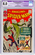 Silver Age (1956-1969):Superhero, The Amazing Spider-Man #2 (Marvel, 1963) CGC Apparent VF 8.0Moderate (B-3) Off-white to white pages....