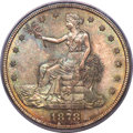 Trade Dollars, 1878-S T$1 MS68 PCGS. CAC....