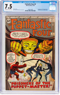 Silver Age (1956-1969):Superhero, Fantastic Four #8 (Marvel, 1962) CGC VF- 7.5 Off-white to whitepages....