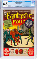 Silver Age (1956-1969):Superhero, Fantastic Four #11 (Marvel, 1963) CGC FN+ 6.5 Cream to off-whitepages....