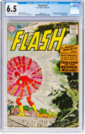 Silver Age (1956-1969):Superhero, The Flash #110 (DC, 1959) CGC FN+ 6.5 Off-white to white pages....