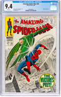 Silver Age (1956-1969):Superhero, The Amazing Spider-Man #64 (Marvel, 1968) CGC NM 9.4 Whitepages....