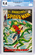 Silver Age (1956-1969):Superhero, The Amazing Spider-Man #71 (Marvel, 1969) CGC NM 9.4 Whitepages....
