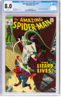 Silver Age (1956-1969):Superhero, The Amazing Spider-Man #76 (Marvel, 1969) CGC VF 8.0 Whitepages....