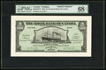 Canadian Currency, St. John's, Antigua- Royal Bank of Canada $5 ( £1-0-10) 2.1.1920 Ch. # 630-24-02 Front Proof PMG Superb Gem Unc 68 EPQ....