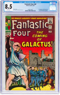 Silver Age (1956-1969):Superhero, Fantastic Four #48 (Marvel, 1966) CGC VF+ 8.5 White pages....