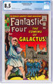 Fantastic Four #48 (Marvel, 1966) CGC VF+ 8.5 White pages