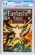 Silver Age (1956-1969):Superhero, Fantastic Four #53 (Marvel, 1966) CGC VF- 7.5 Cream to off-whitepages....