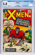 Silver Age (1956-1969):Superhero, X-Men #4 UK Edition (Marvel, 1964) CGC VG/FN 5.0 Off-white to whitepages....
