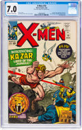 Silver Age (1956-1969):Superhero, X-Men #10 (Marvel, 1965) CGC FN/VF 7.0 Off-white to white pages....