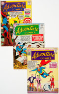 Silver Age (1956-1969):Superhero, Adventure Comics Group of 50 (DC, 1959-69) Condition: Average VG.... (Total: 50 Comic Books)