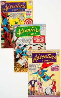 Adventure Comics Group of 51 (DC, 1959-69) Condition: Average VG.... (Total: 51 Comic Books)