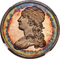 Proof Bust Quarters, 1834 25C PR66+ ★ Ultra Cameo NGC. CAC. B-2, High R.7 as a Proof....